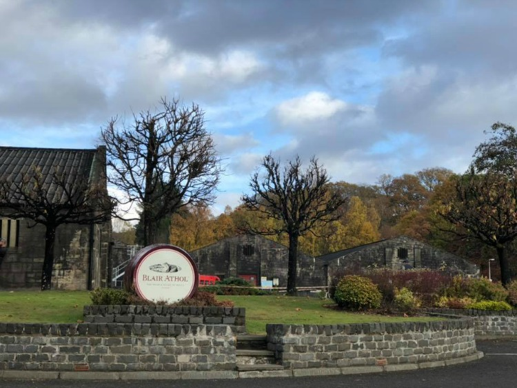 The Blair Athol Distillery on the best tours of Scotland by Every Road a Story