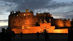 Edinburgh Castle as seen on the best tours of Scotland on Every Road a Story
