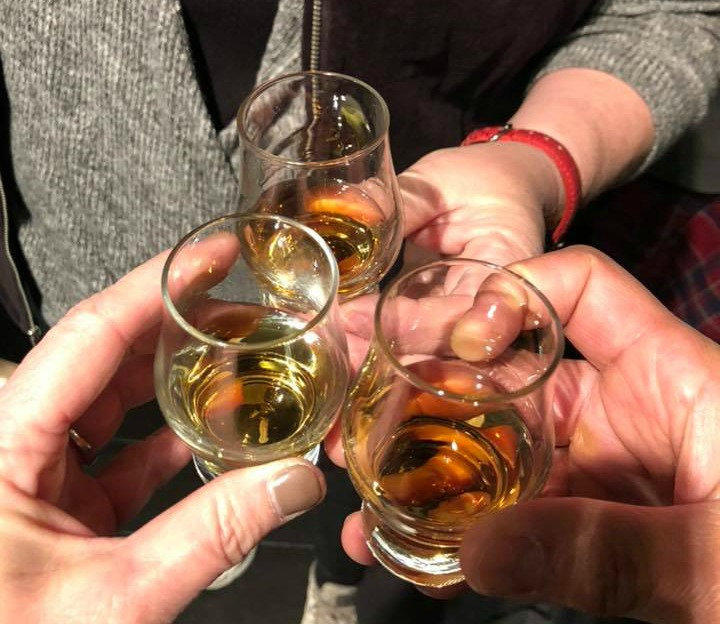 Whisky tasting on the best tours of Scotland for Every Road a Story