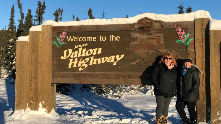 traveling the Dalton Highway on EveryRoadAStory